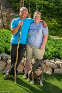 Bethany Tracy with Cesar Millan